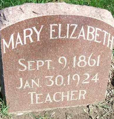 PERKINS, MARY ELIZABETH - Minnehaha County, South Dakota | MARY ELIZABETH PERKINS - South Dakota Gravestone Photos