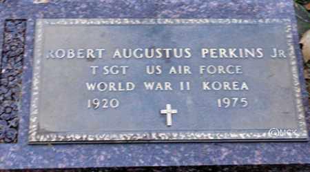 PERKINS, ROBERT AUGUSTUS JR. - Minnehaha County, South Dakota   ROBERT AUGUSTUS JR. PERKINS - South Dakota Gravestone Photos