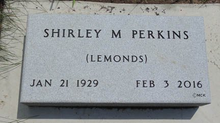 PERKINS, SHIRLEY M. - Minnehaha County, South Dakota | SHIRLEY M. PERKINS - South Dakota Gravestone Photos