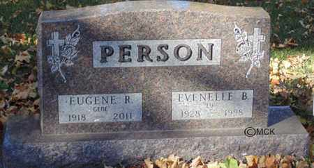 PERSON, EVENELLE B. - Minnehaha County, South Dakota   EVENELLE B. PERSON - South Dakota Gravestone Photos