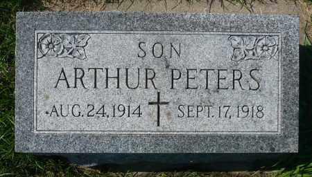 PETERS, ARTHUR - Minnehaha County, South Dakota | ARTHUR PETERS - South Dakota Gravestone Photos