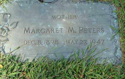 PETERS, MARGARET M. - Minnehaha County, South Dakota   MARGARET M. PETERS - South Dakota Gravestone Photos