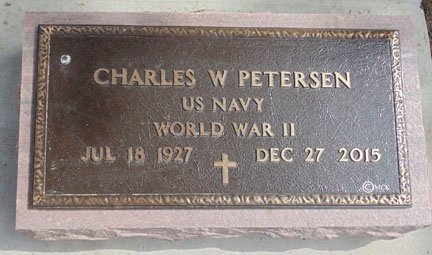 PETERSEN, CHARLES W. - Minnehaha County, South Dakota | CHARLES W. PETERSEN - South Dakota Gravestone Photos