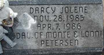 PETERSEN, DARCY JOLENE - Minnehaha County, South Dakota | DARCY JOLENE PETERSEN - South Dakota Gravestone Photos