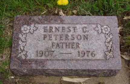 PETERSON, ERNEST C. - Minnehaha County, South Dakota | ERNEST C. PETERSON - South Dakota Gravestone Photos