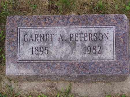PETERSON, GARNET A. - Minnehaha County, South Dakota | GARNET A. PETERSON - South Dakota Gravestone Photos