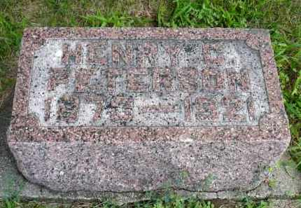 PETERSON, HENRY C. - Minnehaha County, South Dakota | HENRY C. PETERSON - South Dakota Gravestone Photos
