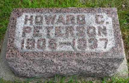 PETERSON, HOWARD C. - Minnehaha County, South Dakota | HOWARD C. PETERSON - South Dakota Gravestone Photos