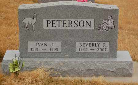 PETERSON, BEVERLY R. - Minnehaha County, South Dakota | BEVERLY R. PETERSON - South Dakota Gravestone Photos