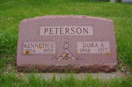 PETERSON, KENNETH C. - Minnehaha County, South Dakota | KENNETH C. PETERSON - South Dakota Gravestone Photos