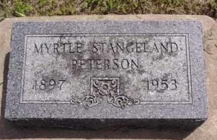 PETERSON, MYRTLE - Minnehaha County, South Dakota | MYRTLE PETERSON - South Dakota Gravestone Photos