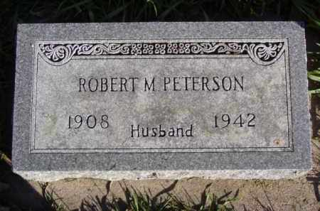 PETERSON, ROBERT M. - Minnehaha County, South Dakota | ROBERT M. PETERSON - South Dakota Gravestone Photos
