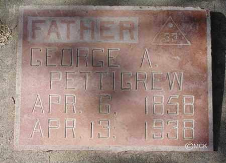 PETTIGREW, GEORGE A. - Minnehaha County, South Dakota | GEORGE A. PETTIGREW - South Dakota Gravestone Photos