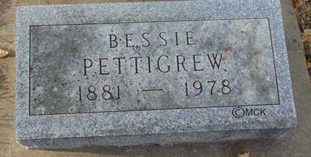PETTIGREW, BESSIE - Minnehaha County, South Dakota | BESSIE PETTIGREW - South Dakota Gravestone Photos