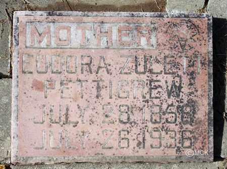 PETTIGREW, EUDORA ZULETT - Minnehaha County, South Dakota | EUDORA ZULETT PETTIGREW - South Dakota Gravestone Photos
