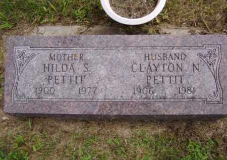 PETTIT, CLAYTON N. - Minnehaha County, South Dakota | CLAYTON N. PETTIT - South Dakota Gravestone Photos