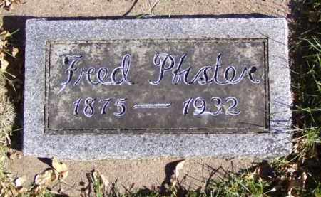 PFISTER, FRED - Minnehaha County, South Dakota | FRED PFISTER - South Dakota Gravestone Photos