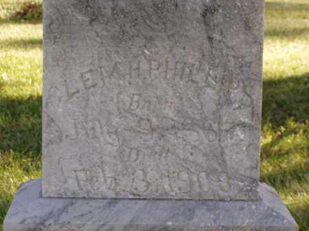 PHILLIPS, CLEM H. - Minnehaha County, South Dakota | CLEM H. PHILLIPS - South Dakota Gravestone Photos