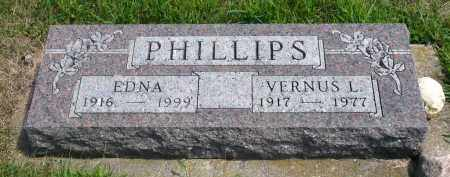 PHILLIPS, EDNA - Minnehaha County, South Dakota | EDNA PHILLIPS - South Dakota Gravestone Photos