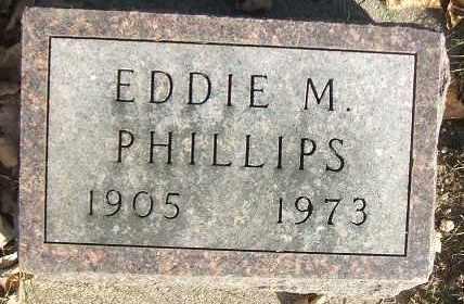PHILLIPS, EDDIE M. - Minnehaha County, South Dakota | EDDIE M. PHILLIPS - South Dakota Gravestone Photos