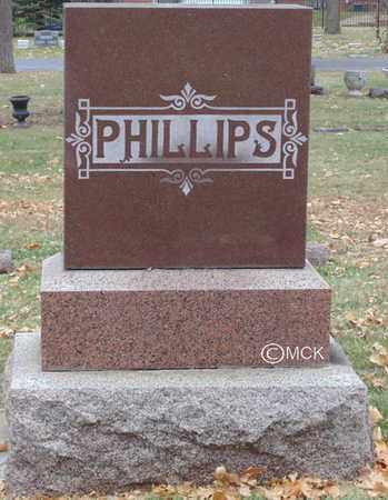 PHILLIPS, HEADSTONE - Minnehaha County, South Dakota | HEADSTONE PHILLIPS - South Dakota Gravestone Photos