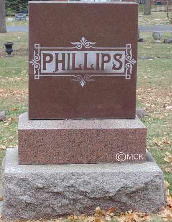 PHILLIPS, HEADSTONE - Minnehaha County, South Dakota | HEADSTONE PHILLIPS - South Dakota Gravestone Photos