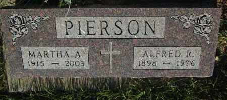 PIERSON, ALFRED R. - Minnehaha County, South Dakota | ALFRED R. PIERSON - South Dakota Gravestone Photos