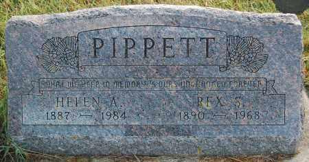 PIPPETT, REX S. - Minnehaha County, South Dakota   REX S. PIPPETT - South Dakota Gravestone Photos