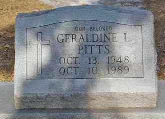 PITTS, GERALDINE L. - Minnehaha County, South Dakota | GERALDINE L. PITTS - South Dakota Gravestone Photos