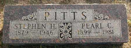 PITTS, PEARL C. - Minnehaha County, South Dakota | PEARL C. PITTS - South Dakota Gravestone Photos