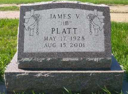 "PLATT, JAMES ""JIM"" V. - Minnehaha County, South Dakota 