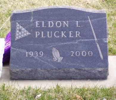 PLUCKER, ELDON LEE - Minnehaha County, South Dakota | ELDON LEE PLUCKER - South Dakota Gravestone Photos