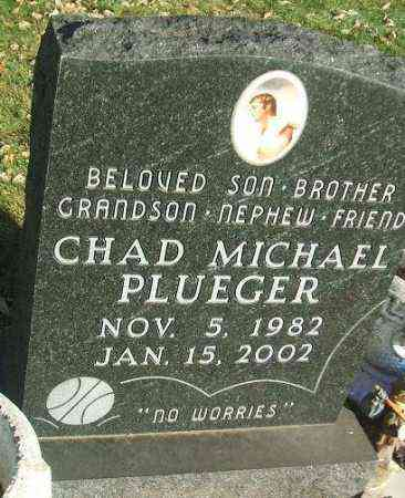 PLUEGER, CHAD MICHAEL - Minnehaha County, South Dakota | CHAD MICHAEL PLUEGER - South Dakota Gravestone Photos