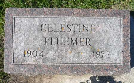 PLUEMER, CELESTINE - Minnehaha County, South Dakota | CELESTINE PLUEMER - South Dakota Gravestone Photos