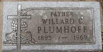 PLUMHOFF, WILLARD C. - Minnehaha County, South Dakota   WILLARD C. PLUMHOFF - South Dakota Gravestone Photos