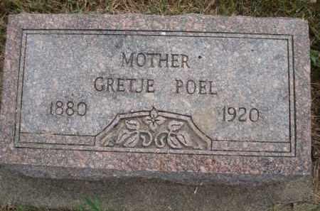 POEL, GRETJE - Minnehaha County, South Dakota | GRETJE POEL - South Dakota Gravestone Photos