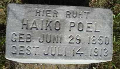 POEL, HAIKO - Minnehaha County, South Dakota | HAIKO POEL - South Dakota Gravestone Photos