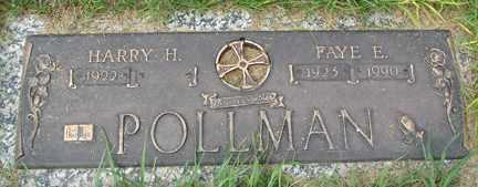 POLLMAN, FAYE E. - Minnehaha County, South Dakota | FAYE E. POLLMAN - South Dakota Gravestone Photos