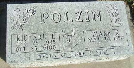 POLZIN, RICHARD F. - Minnehaha County, South Dakota | RICHARD F. POLZIN - South Dakota Gravestone Photos