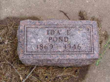POND, IDA E. - Minnehaha County, South Dakota | IDA E. POND - South Dakota Gravestone Photos