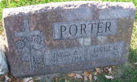 PORTER, JAMES A. - Minnehaha County, South Dakota | JAMES A. PORTER - South Dakota Gravestone Photos
