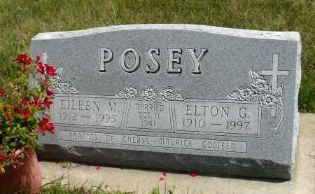 POSEY, ELTON C. - Minnehaha County, South Dakota | ELTON C. POSEY - South Dakota Gravestone Photos