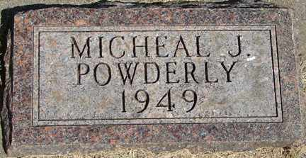 POWDERLY, MICHAEL J. - Minnehaha County, South Dakota | MICHAEL J. POWDERLY - South Dakota Gravestone Photos