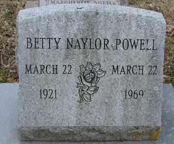 POWELL, BETTY - Minnehaha County, South Dakota | BETTY POWELL - South Dakota Gravestone Photos
