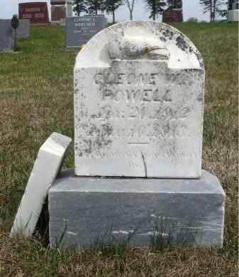 POWELL, CLEONE W. - Minnehaha County, South Dakota | CLEONE W. POWELL - South Dakota Gravestone Photos