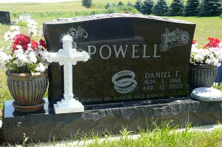 POWELL, DANIEL F. - Minnehaha County, South Dakota | DANIEL F. POWELL - South Dakota Gravestone Photos