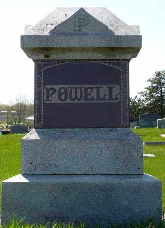 POWELL, FAMILY MARKER - Minnehaha County, South Dakota | FAMILY MARKER POWELL - South Dakota Gravestone Photos