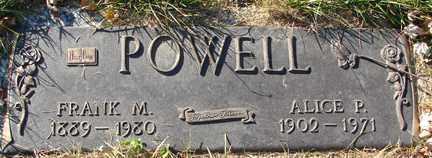 POWELL, FRANK M. - Minnehaha County, South Dakota | FRANK M. POWELL - South Dakota Gravestone Photos