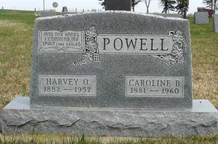 POWELL, CAROLINE B. - Minnehaha County, South Dakota | CAROLINE B. POWELL - South Dakota Gravestone Photos