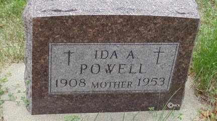 POWELL, IDA A. - Minnehaha County, South Dakota | IDA A. POWELL - South Dakota Gravestone Photos